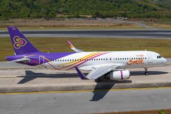 HS-TXK - Thai Smile Airbus A320