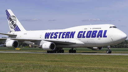N344KD - Western Global Airlines Boeing 747-400F, ERF