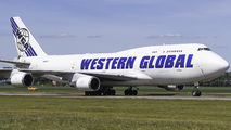 Rare visit of Western Global Boeing 747F to Amsterdam title=