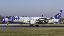 JA879A - ANA - All Nippon Airways Boeing 787-9 Dreamliner aircraft