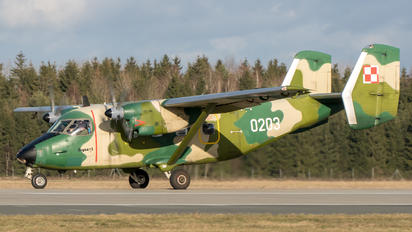 0203 - Poland - Air Force PZL M-28 Bryza