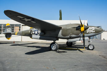 NX138AM - Air Museum Chino Lockheed P-38 Lightning