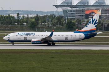 D-ASXH - SunExpress Germany Boeing 737-800