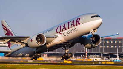 A7-BFI - Qatar Airways Cargo Boeing 777F