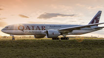 A7-BFT - Qatar Airways Cargo Boeing 777F aircraft