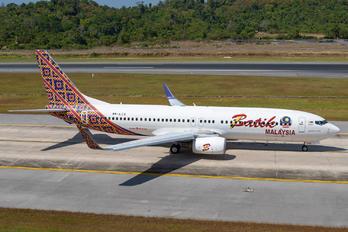9M-LCS - Batik Air Malaysia Boeing 737-800