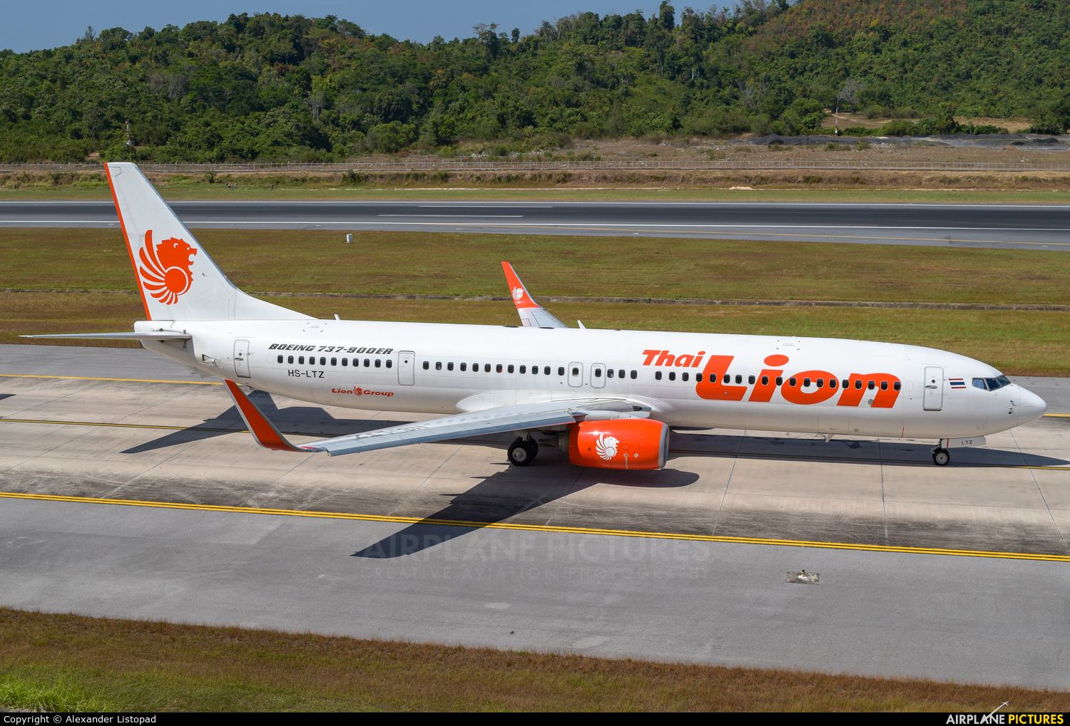 Thai Lion Air HS-LTZ aircraft at Phuket