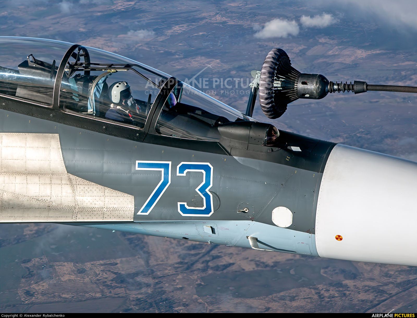 Russia - Navy RF-34011 aircraft at In Flight - Russia