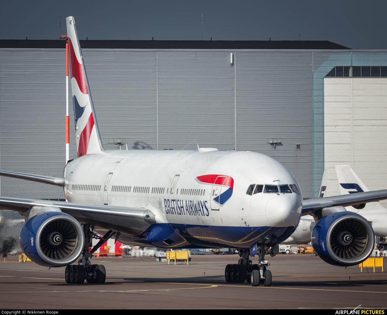 British Airways G-YMMD aircraft at Helsinki - Vantaa