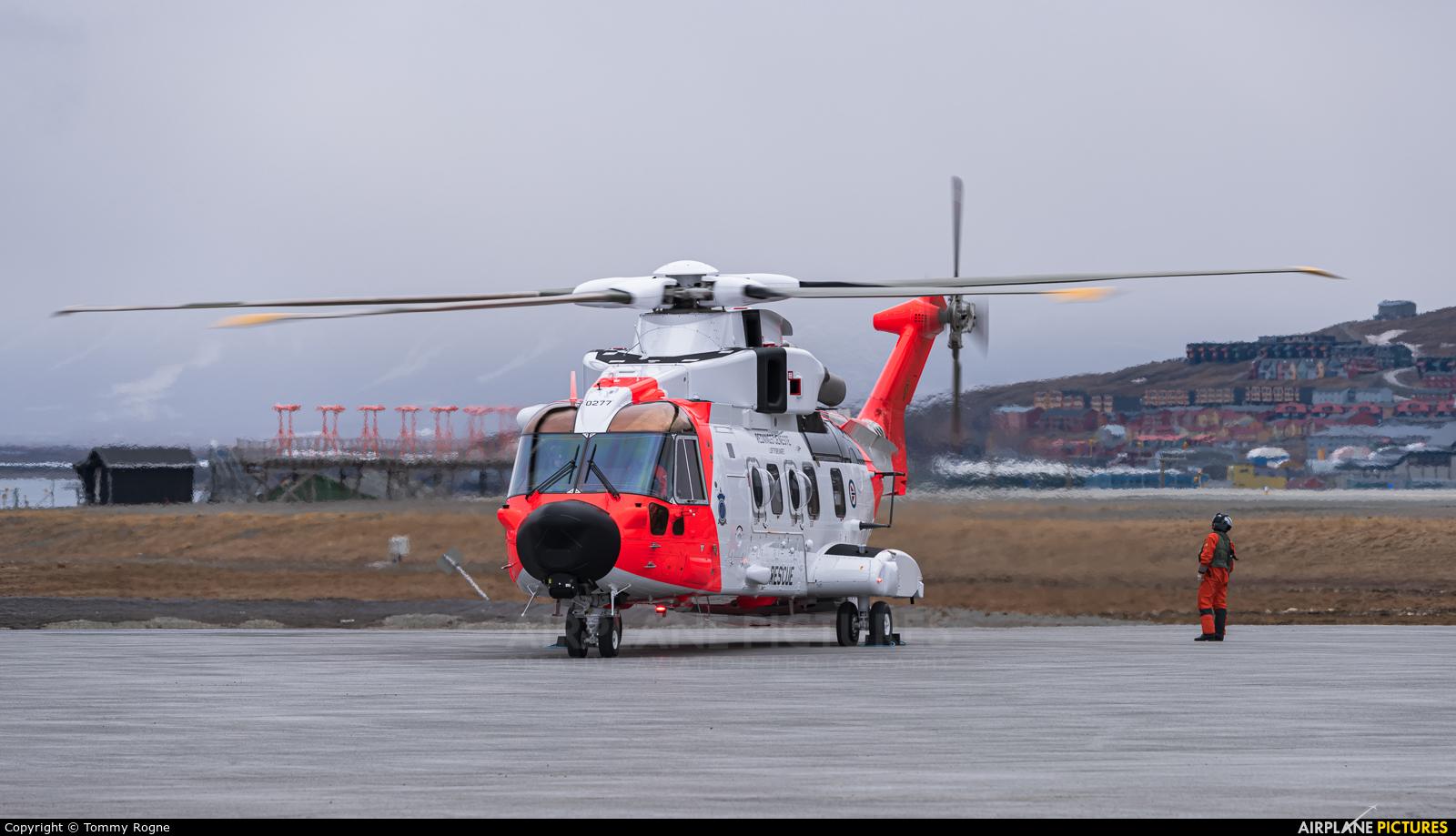 Norway - Royal Norwegian Air Force 0277 aircraft at Svalbard - Longyearbyen