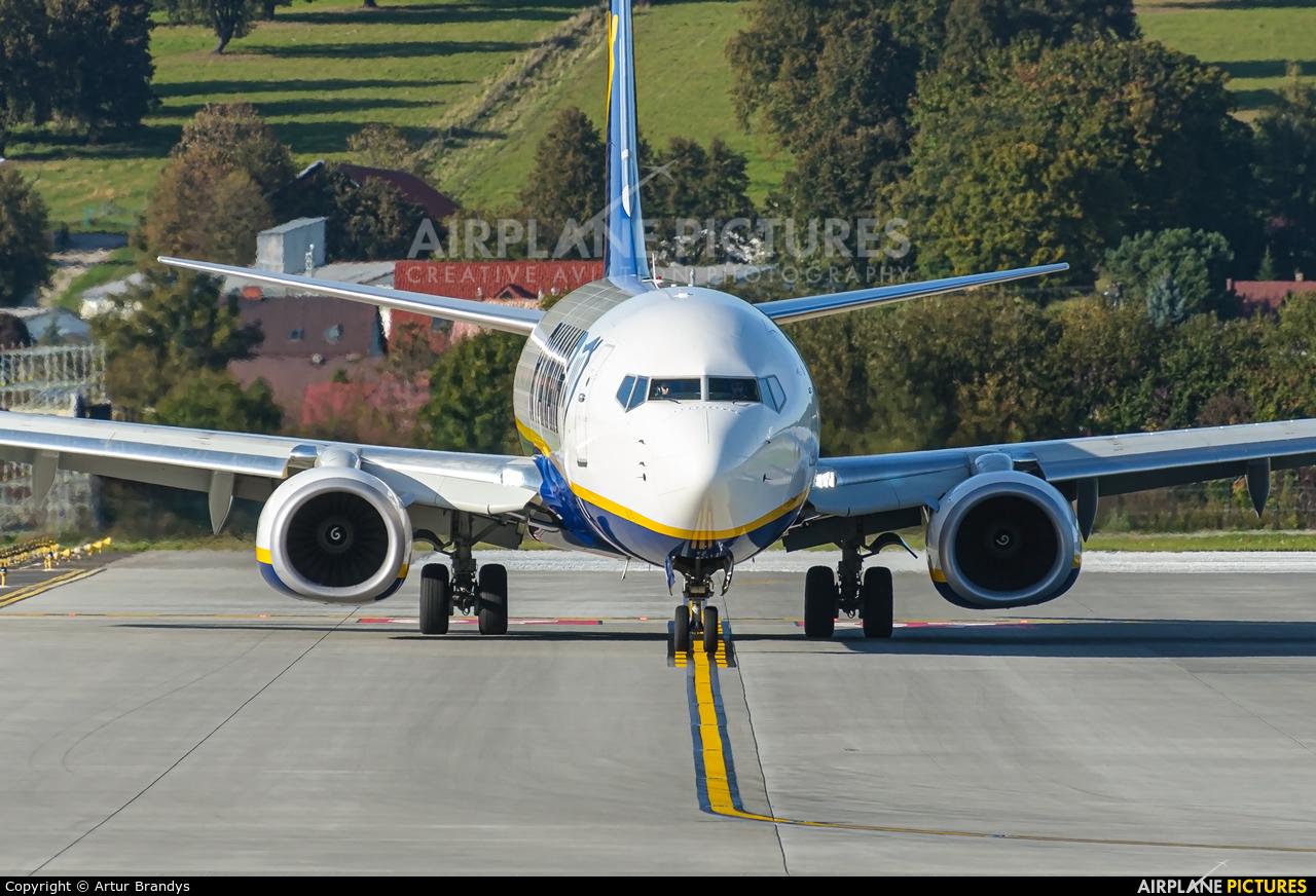 Ryanair EI-GDA aircraft at Kraków - John Paul II Intl