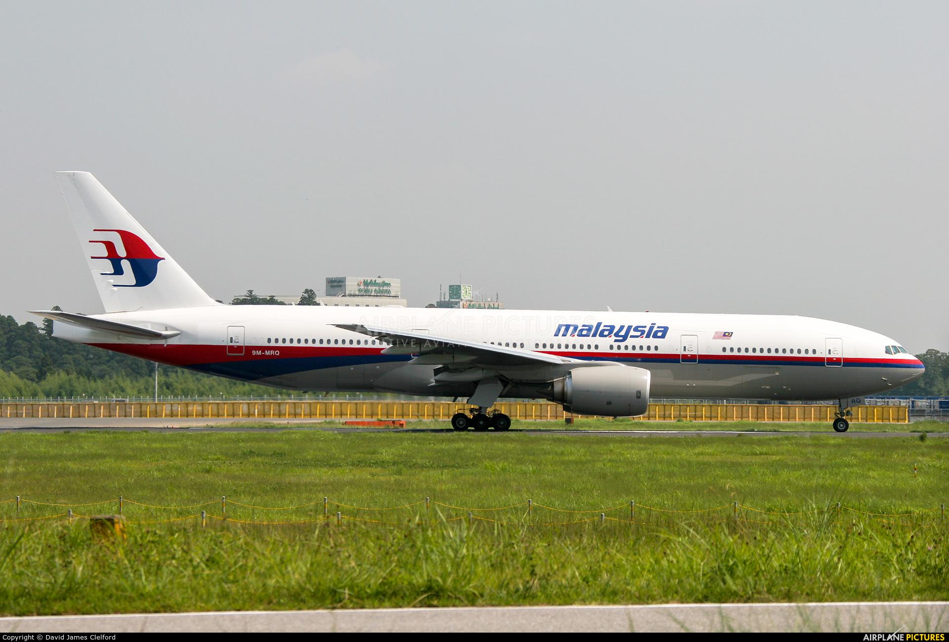 Malaysia Airlines 9M-MRQ aircraft at Tokyo - Narita Intl