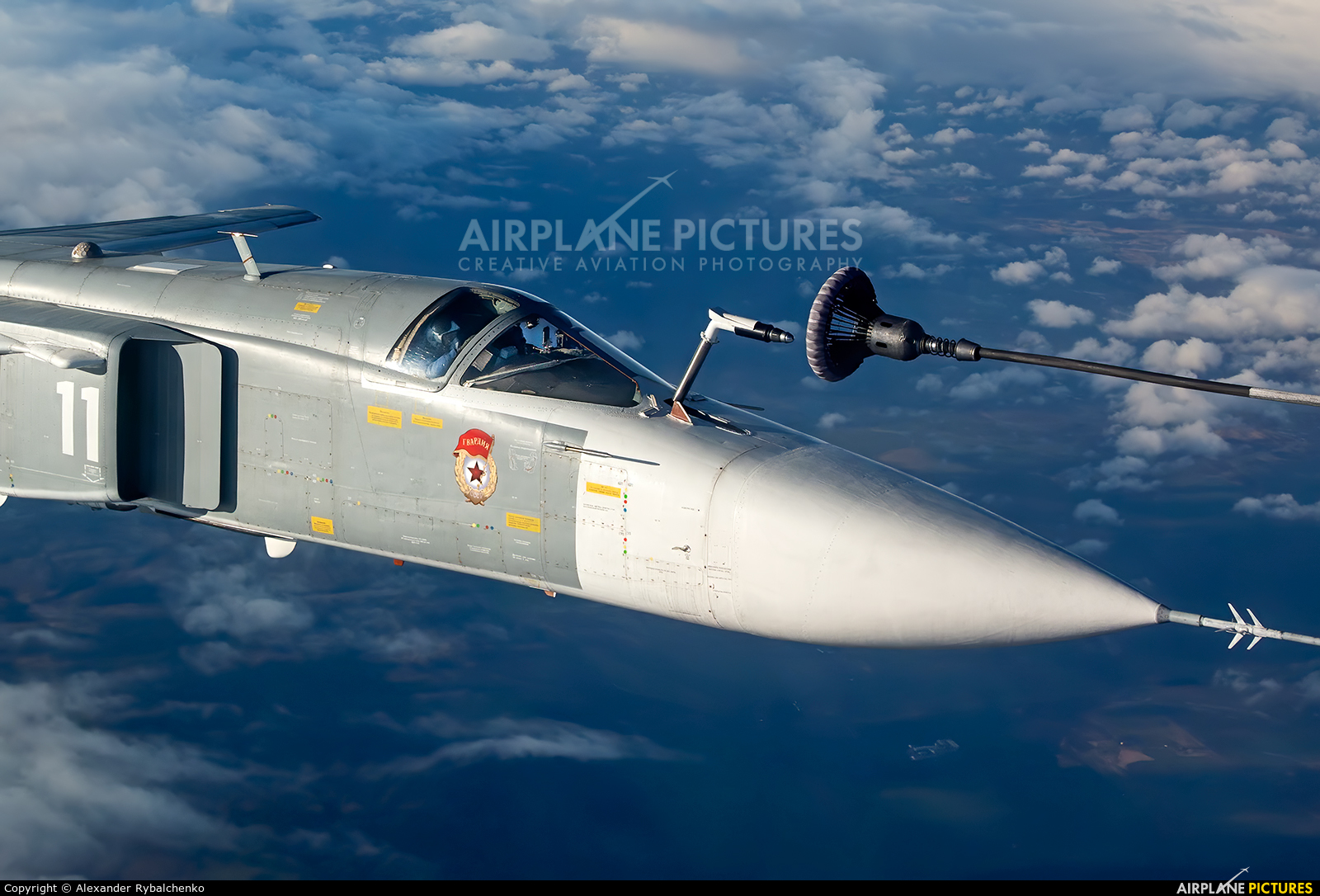 Russia - Navy RF-33843 aircraft at In Flight - Russia