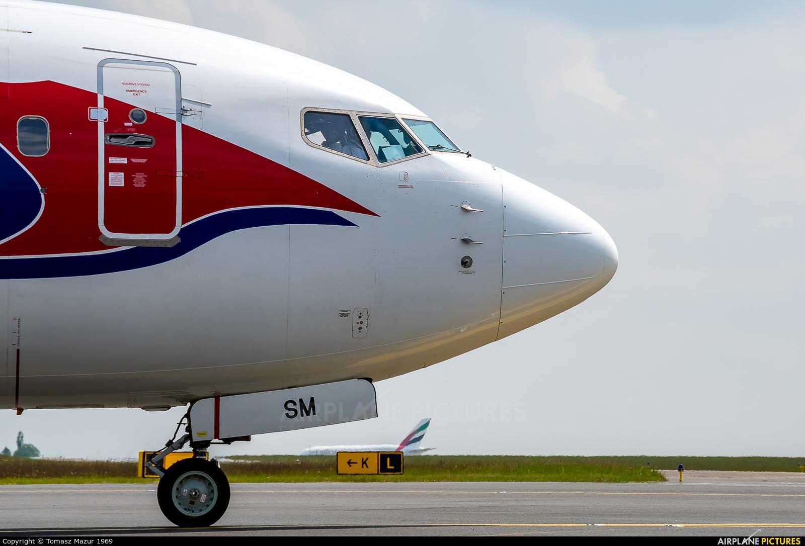 Travel Service OK-TSM aircraft at Prague - Václav Havel