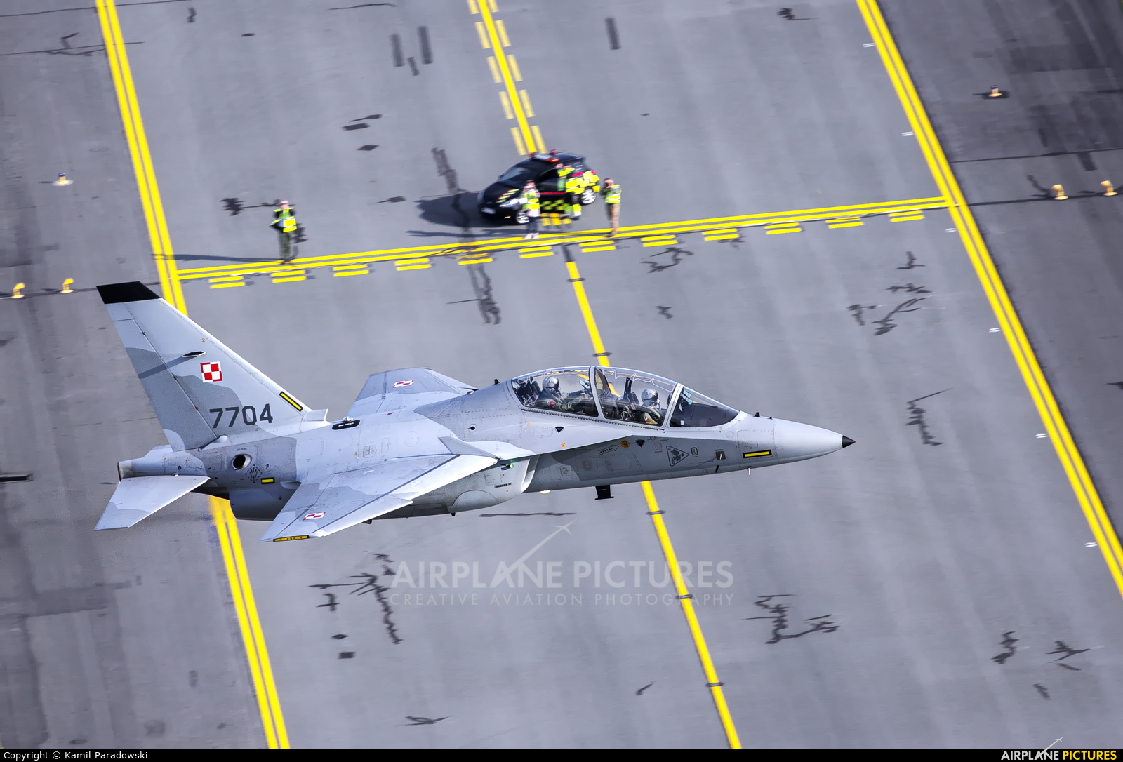 Poland - Air Force 7704 aircraft at Modlin
