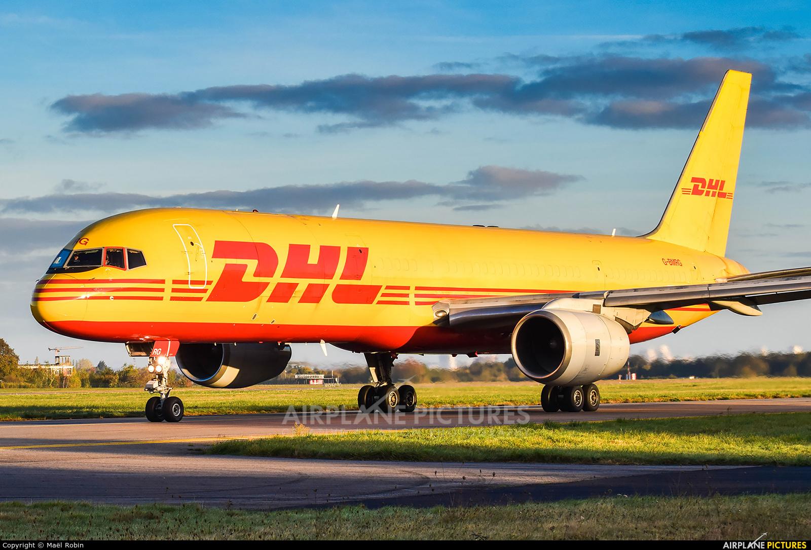 DHL Cargo G-BMRG aircraft at Nantes - Atlantique