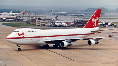 G-VGIN - Virgin Atlantic Boeing 747-200
