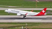 HB-JVN - Helvetic Airways Embraer ERJ-190 (190-100) aircraft