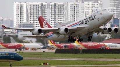 LX-LCL - Cargolux Boeing 747-400F, ERF