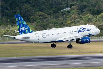 N589JB - JetBlue Airways Airbus A320