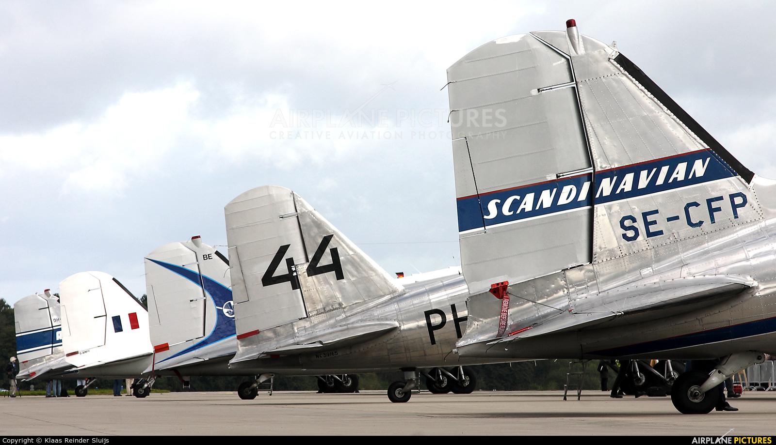 SAS - Flygande Veteraner SE-CFP aircraft at Hamburg - Fuhlsbüttel