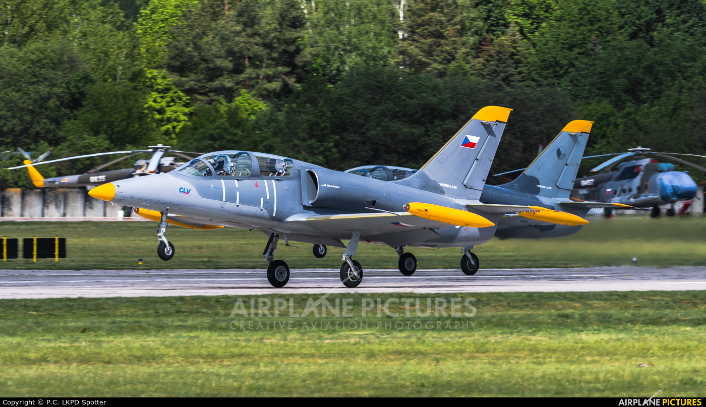 Czech - Air Force 0445 aircraft at Pardubice