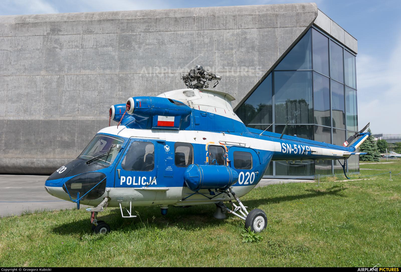 Poland - Police SN-51XP aircraft at Kraków, Rakowice Czyżyny - Museum of Polish Aviation