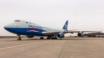 4K-SW008 - Silk Way Airlines Boeing 747-400F, ERF