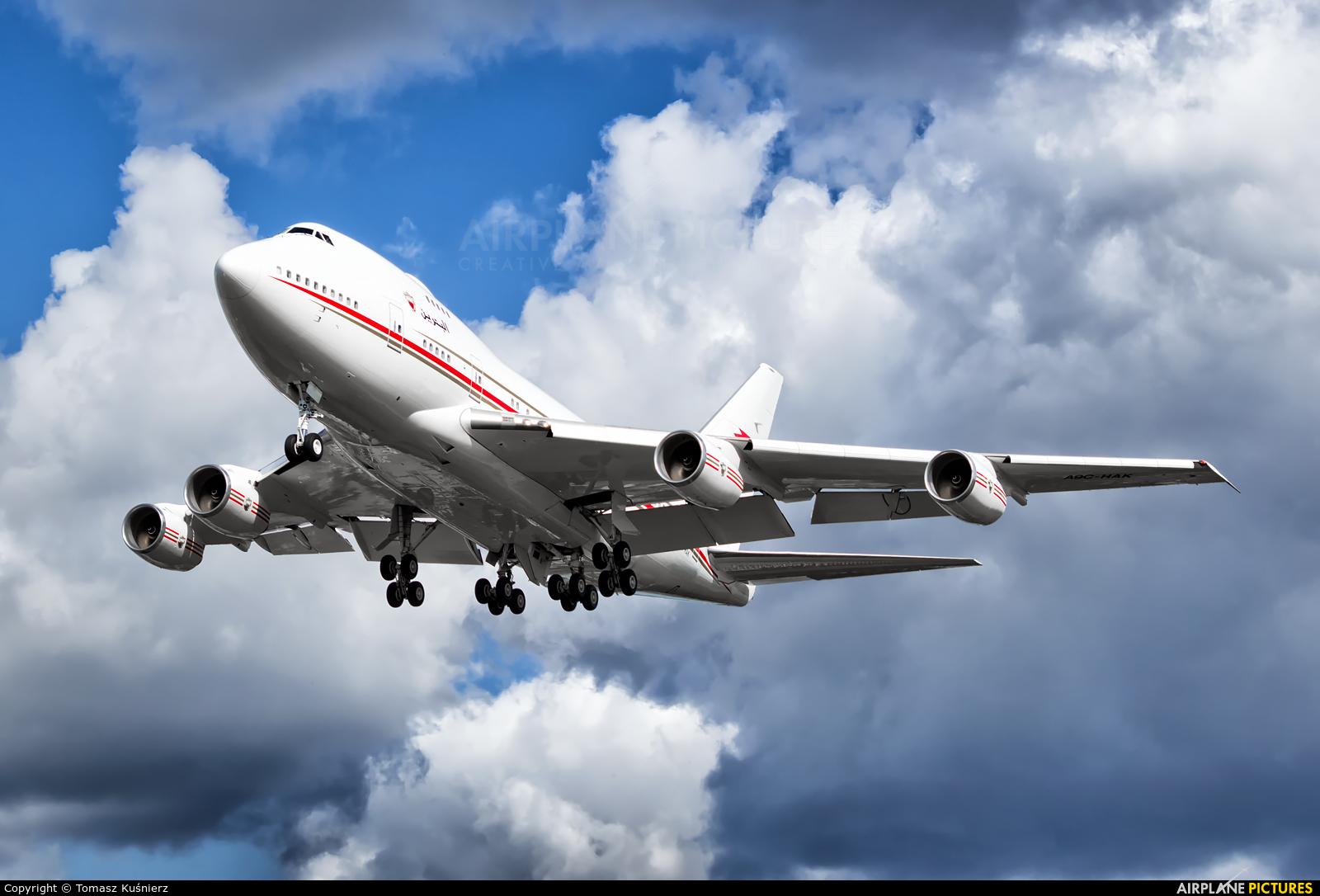 Bahrain Amiri Flight A9C-HAK aircraft at London - Heathrow