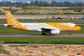 9V-TAX - Scoot Airbus A320