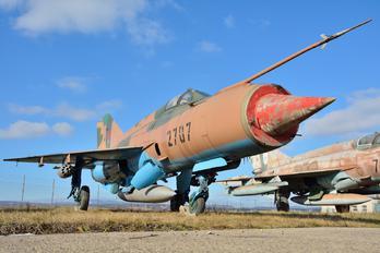 2707 - Slovakia -  Air Force Mikoyan-Gurevich MiG-21MF