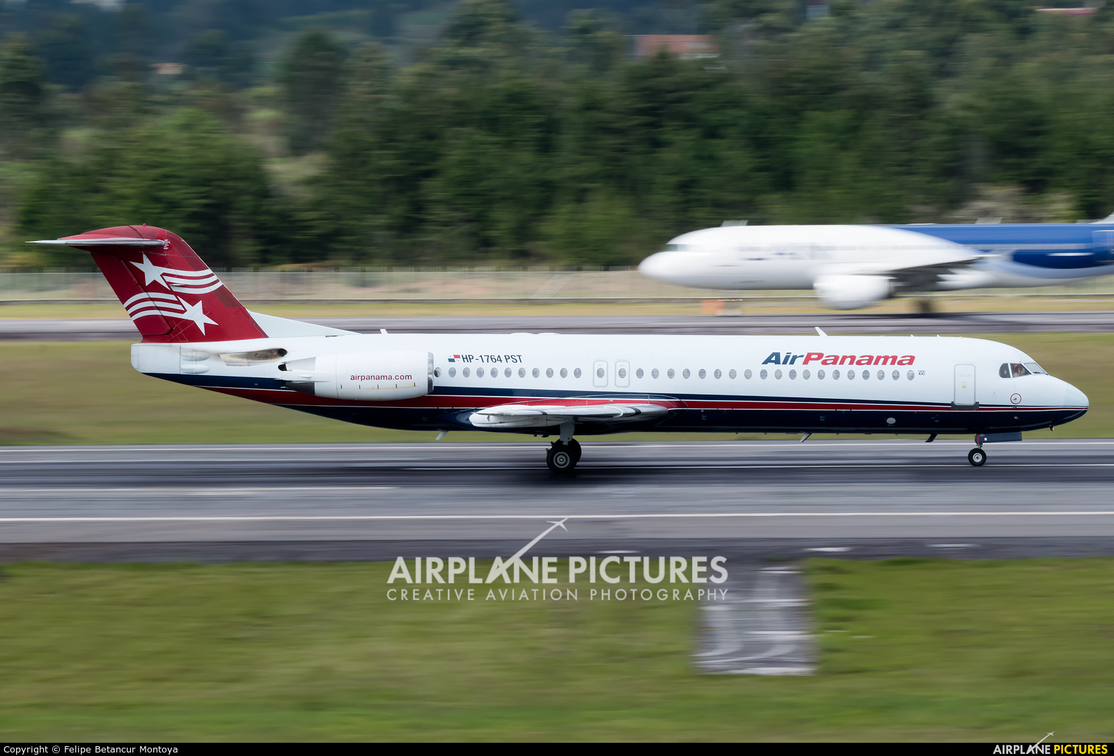 Air Panama HP-1764PST aircraft at Medellin - Jose Maria Cordova Intl
