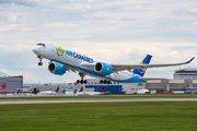 First visit of Air Caraibes A350 to Montreal  title=