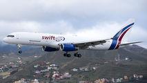EC-NIV - Swift Air Boeing 757-223(SF) aircraft