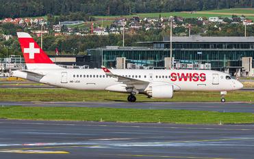 HB-JCK - Swiss Bombardier CS300