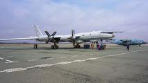 RF-34099 - Russia - Navy Tupolev Tu-142 aircraft