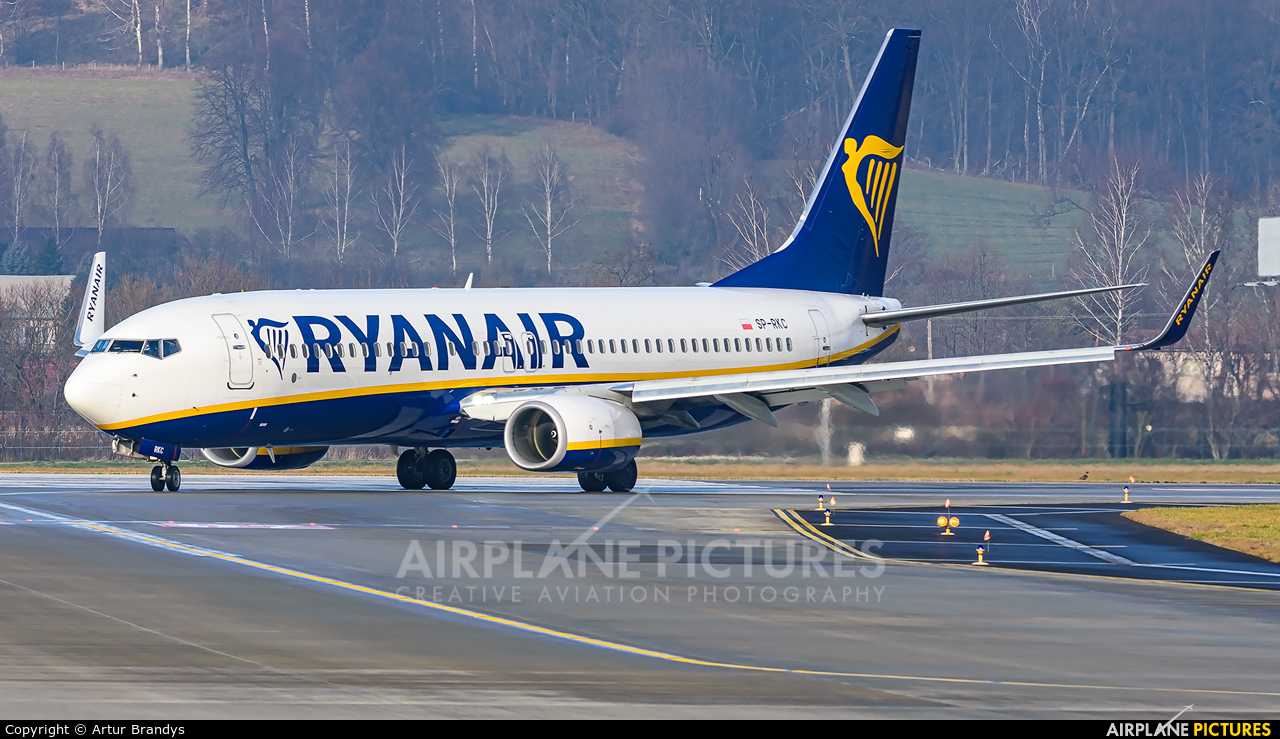 Ryanair Sun SP-RKC aircraft at Kraków - John Paul II Intl