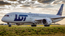 SP-LSG - LOT - Polish Airlines Boeing 787-9 Dreamliner aircraft