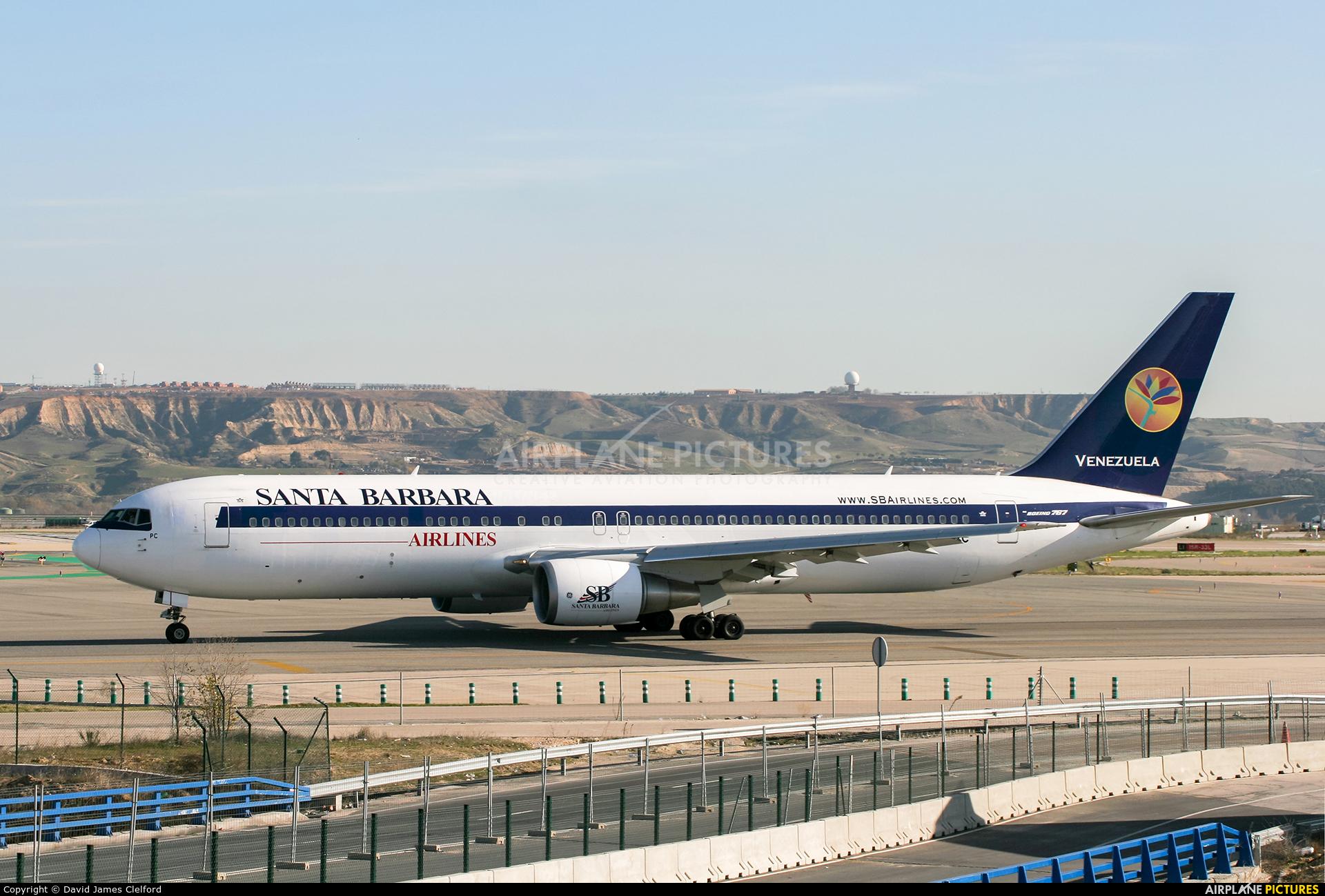 Santa Barbara Airlines SP-LPC aircraft at Madrid - Barajas