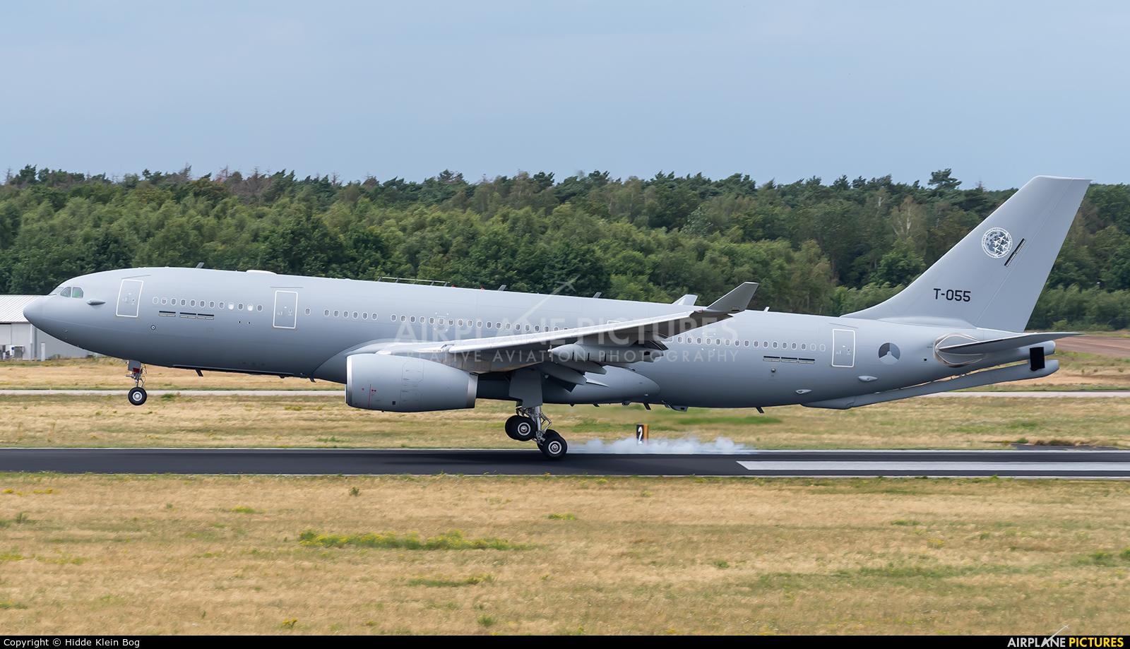 NATO T-055 aircraft at Eindhoven