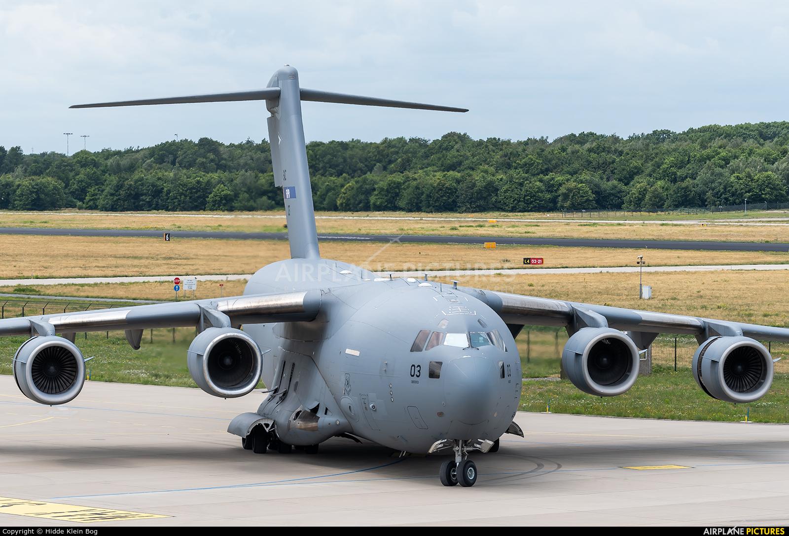 NATO SAC 03 aircraft at Eindhoven