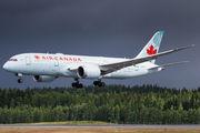 Air Canada B787 made a repatriation flight to Helsinki title=