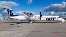 SP-EQB - LOT - Polish Airlines de Havilland Canada DHC-8-400Q / Bombardier Q400 aircraft