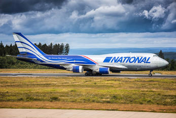 N919CA - National Airlines Boeing 747-400BCF, SF, BDSF