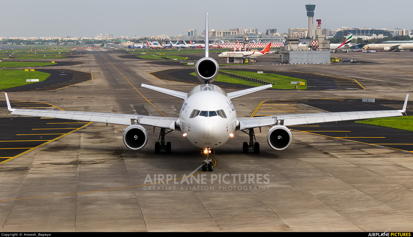 Lufthansa Cargo D-ALCD aircraft at Mumbai - Chhatrapati Shivaji Intl