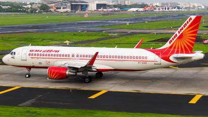 VT-EXD - Air India Airbus A320