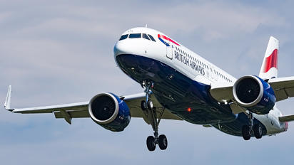 G-TTNL - British Airways Airbus A320 NEO