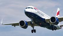 G-TTNL - British Airways Airbus A320 NEO aircraft