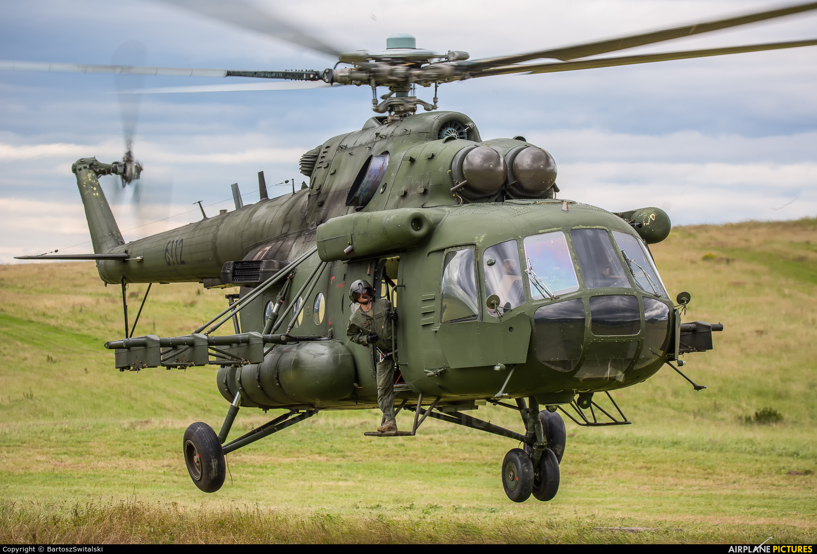 Poland- Air Force: Special Forces 6112 aircraft at Undisclosed location