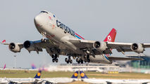 LX-LCL - Cargolux Boeing 747-400F, ERF aircraft